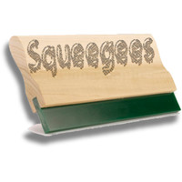 Uncoated & Glued Screen Printing Squeegees