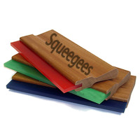 Coated & Glued Screen Printing Squeegees