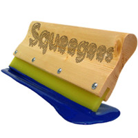 Coated & Bolted Screen Printing Squeegees